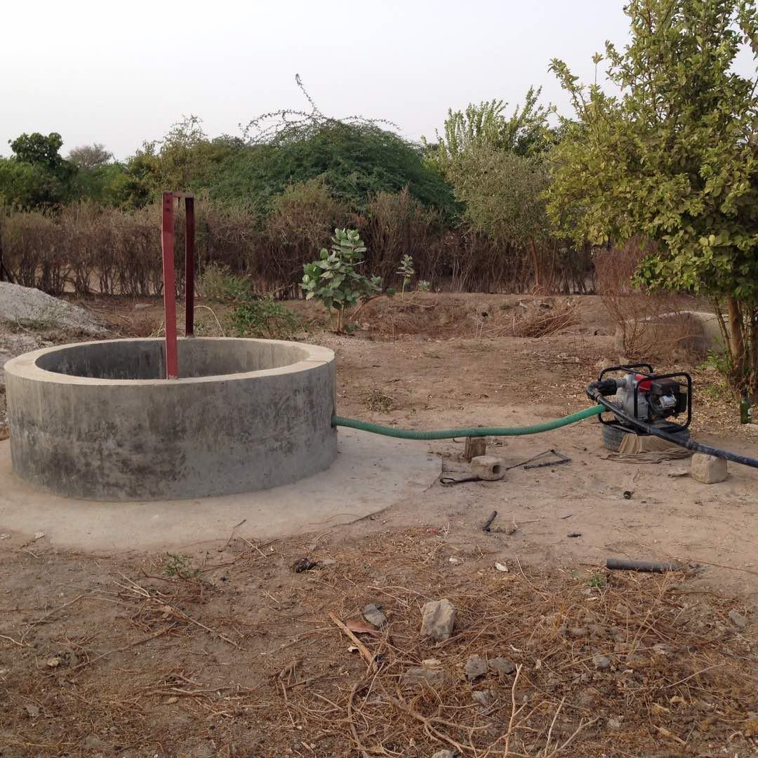Pompe en sortie de puits